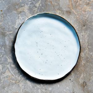 Farfurie desert Stardust Chicineta albastru
