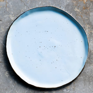 Farfurie intinsa Chicineta Stardust bleu
